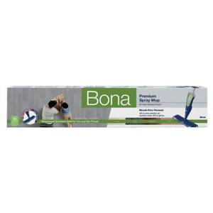 Bona Spray Mop Hard-Surface Floor Machine Washable Microfiber Pad Refillable