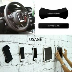 FLOURISH LAMA Sticky Pads Anti-Slip Mat Gel Dash Car Mount Holder For Cell Phone