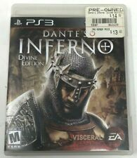 Dante's Inferno: Divine Edition (PlayStation 3, 2010) Complete with manual CIB