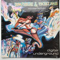 """Digital Underground Doowutchyalike / Packet Man Vinyl Record Original 1990 12"""""""