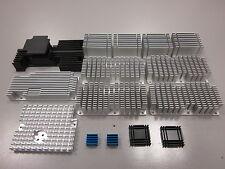 Stock 1Kg DISSIPATORI TERMICI in alluminio per elettronica Alette Raffreddamento