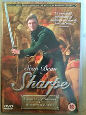Sean Bean SHARPE'S COMPANY / SHARPE'S ENEMY ~ TV Drama Double Bill | UK DVD