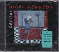 CD 12T NIGEL KENNEDY RECITAL (J.S. BACH/FATS WALLER/DAVE BRUBECK) NEUF SCELLE