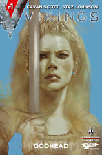 VIKINGS : GODHEAD ISSUE 1 - RARE JETPACK COMICS VARIANT - TITAN COMICS