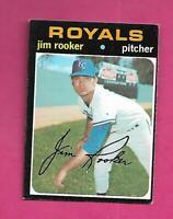 1971 TOPPS # 730 ROYALS JIM ROOKER  HIGH # EX-MT CARD (INV# C8687)
