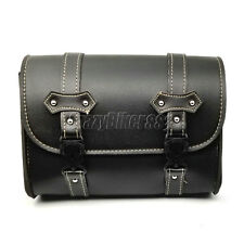 PU Leather Saddle Tool Bag Fit Kawasaki VN Vulcan Classic Nomad Drifter 1500 900