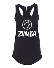 NEW! ZUMBA Dance Workout Women Racerback Tank Tops S-3XL