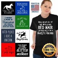 Magical Horse Tee Shirt Chubby T-Shirt Mens Mythical TShirts T Shirt For Womens