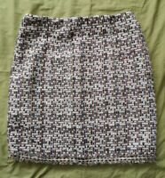 NAANAA Women's Simple Life Multicoloured Tweed Mini Skirt Size 8 New With Tags