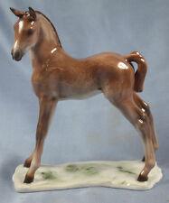 Fohlen Pferdefigur pferd  Porzellan Rosenthal  figur porzellanfigur kärner 1975
