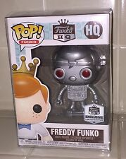 Funko HQ Grand Opening Freddy Funko Robot Pop Limited Edition Exclusive! RARE!