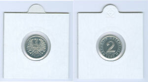 Autriche 2 Centime Pp Bzw. Main Levée ( Choisissez Entre 1964 - 1994)