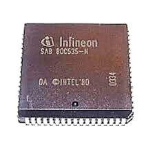 INF/SIE SAB80C535-16-N PLCC-68 8-Bit CMOS Single-Chip