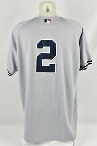 2002 Derek Jeter Game Worn Used New York Yankees Road Jersey Miedema LOA