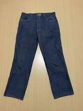 Draggin Jeans Pants Mens ~ Size 36 ~ Great Cond Motorcycle Kevlar Lining Black
