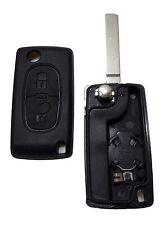 Guscio chiave telecomando 2 Tasti Peugeot 206 207 307 407 Citroen C2 C3 C4 C5 C6