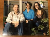 Amy Klobuchar John Abigail Bessler Husband Daughter Signed 8x10 Photo Authentic