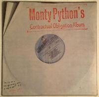 MONTY PYTHON'S CONTRACTUAL OBLIGATION ALBUM LP CHARISMA UK 1980 NEAR MINT