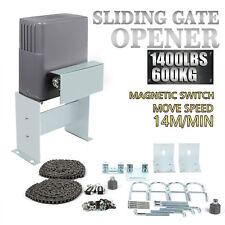600kg motorisation portail coulissant automatisme porte électrique kit sans fil