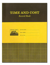 Caterpillar Time And Cost Record Book