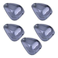 5X Cab Roof Smoked Lamps Lights Lens Cover Fit for Ford F250 F350 F650 264142BK