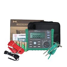 Mastech Ground Earth Resistance Tester Ms2302 Tester Voltage