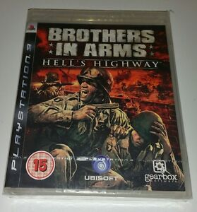 Brothers In Arms Hell's Highway PS3 New Sealed UK PAL Sony PlayStation 3 RARE