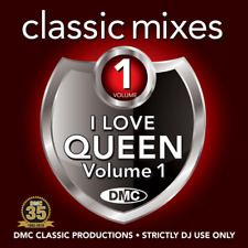 DMC Classic Mixes Queen Megamix & 2 Trackers Mixes Remixes Ft David Bowie DJ CD