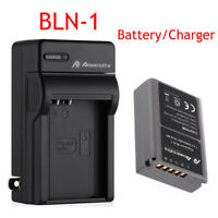 2000mAh BLN-1 BLN1 Battery / Charger for Olympus OM-D EM5 E-M5 E-M1 EM1 PEN E-P5