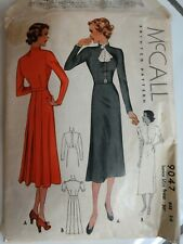 New ListingVintage McCall's sewing pattern-1936! Dress-sz 14 bust 34-Good condition!
