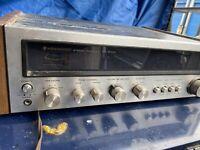 VINTAGE Kenwood KR-2400 AM-FM Stereo Tuner Amplifier Receiver Works TESTED