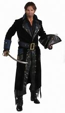 Men's Deluxe Blackbeard Pirate Costume Designer Collection Size Large