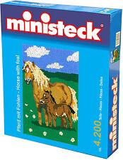 Ministeck Pixel Puzzle (31314): Horse with Foal 4200 pieces