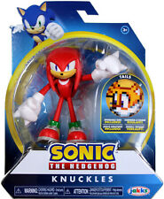 Sonic the Hedgehog ~ KNUCKLES (WAVE 1) ACTION FIGURE w/BENDABLE ARMS & LEGS