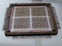 USSR Soviet RAM K-28 Magnetic Ferrite Core Memory Plate 128 byte 1970s Working