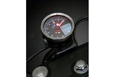 KOSO Digitales Multifunktions-Cockpit, TNT-04 Drehzahlmesser /Tachometer mit Chr
