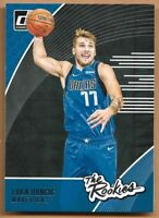 2018-19 Panini Donruss Luka Doncic RC #3 The Rookies insert Dallas Mavericks