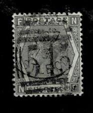 United Kingdom Michel Number 39 Postmarked Plate 12