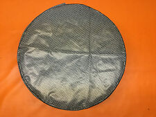 Vintage Gray Houndstooth Spare Tire Cover Loose Fit Trunk Ford Chrysler  GM GTO
