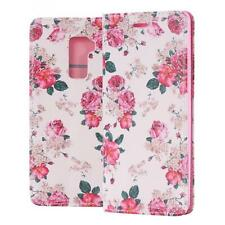 Huawei Mate S Coque de Protection Carte Portefeuille Housse Etui Cover Case Rose