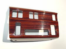 1992-1995 Mercedes Benz W124 E320 AC climate control Zebrano wood Bezel used OEM