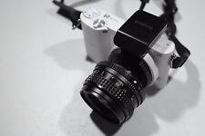 Mamiya E Sekor-E mount 50mm F1.7 fast lens objektiv lente