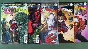 Rebirth Suicide Squad #11-15 Lot of 5 First Print Set nm bagged Harley Quinn