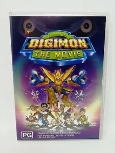 Digimon - The Movie - Digital Monsters - Rare Region 4 DVD