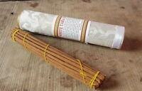 White Tara Tibetan Incense Sticks packed in Brocade Tube- Handmade Incense NEPAL