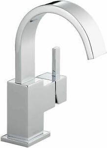 Delta 553LF Vero 1 Hole Bathroom Faucet in Chrome Finish