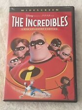 The Incredibles 2 Disc Collector's Edition Widescreen Disney Pixar 2003