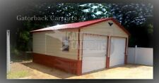Pre-Fab steel building A-Frame carports Garage shops