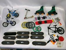 TECH DECK SKATEBOARD LOT~Skates*Snowboard*Bicycle*Scooter*Wheels*Tools*Parts