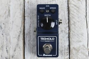 Ibanez TRMINI Tremolo Mini Pedal Electric Guitar Effects Pedal Made in Japan